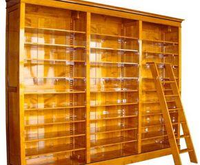 Bücherregal Kirsche bücherregal kirsche massivholz mit leiter bücherregal kirsche mit