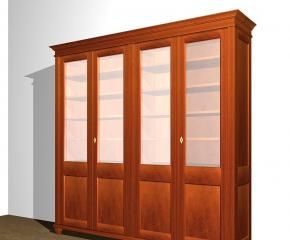 b cherschrank aus massivholz mit glast ren b cherschrank mit glast ren doppler31 massivholz. Black Bedroom Furniture Sets. Home Design Ideas