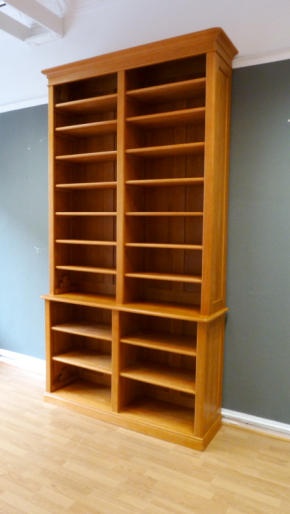 Bücherregale Bücherregal Bücherwand Regalwand Massivholz