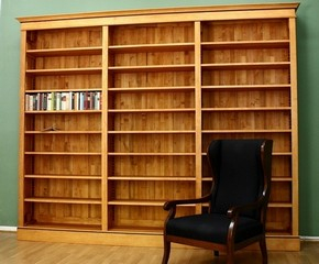 b cherregale massiv aus holz b cherwand b cherregal 3. Black Bedroom Furniture Sets. Home Design Ideas
