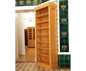 Regal massiv Holz Erle schlichtes Design Regal massiv ...
