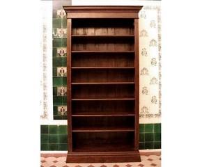 Holz bücherregal  Bücherregale Regalvarianten massiv Holz nach Maß Bücherregal 1 ...