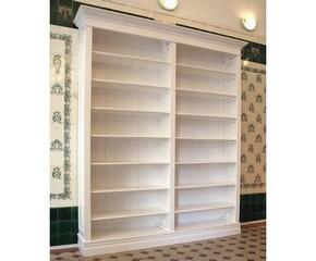 Bücherregal weiß antik  Bücherregale Massivholz Regal modernes Design Bücherregal 2-teilig ...