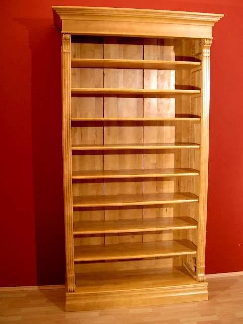 regal aus massivholz erle naturton regal erle natur. Black Bedroom Furniture Sets. Home Design Ideas