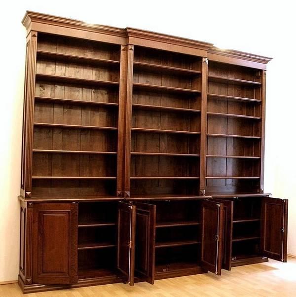 b cherregal massiv holz mit t ren b cherregal dreier1 massivholz mit t ren massivholz regale. Black Bedroom Furniture Sets. Home Design Ideas