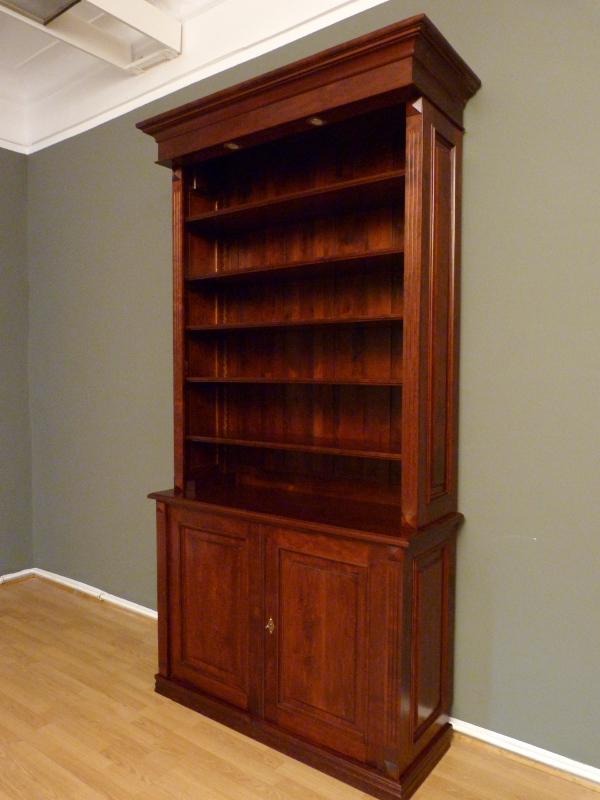 b cherregal massiv holz erle mahagoniton b cherregale. Black Bedroom Furniture Sets. Home Design Ideas