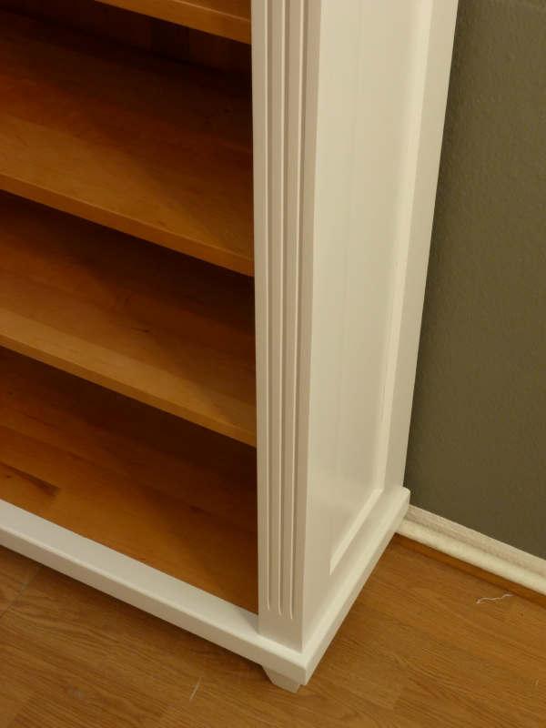 b cherregal massiv erle klassisch klassisches b cherregal. Black Bedroom Furniture Sets. Home Design Ideas