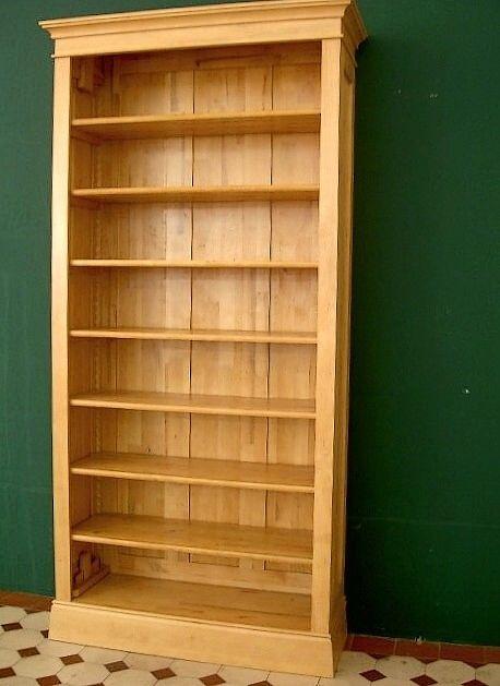 Holz bücherregal  Bücherregal Holz massiv Erle Regal massiv Holz Erle Naturton ...