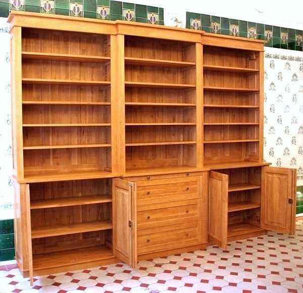 b cherwand massiv eiche mit t ren b cherregal dreier16 massiv eiche t ren massivholz regale berlin. Black Bedroom Furniture Sets. Home Design Ideas