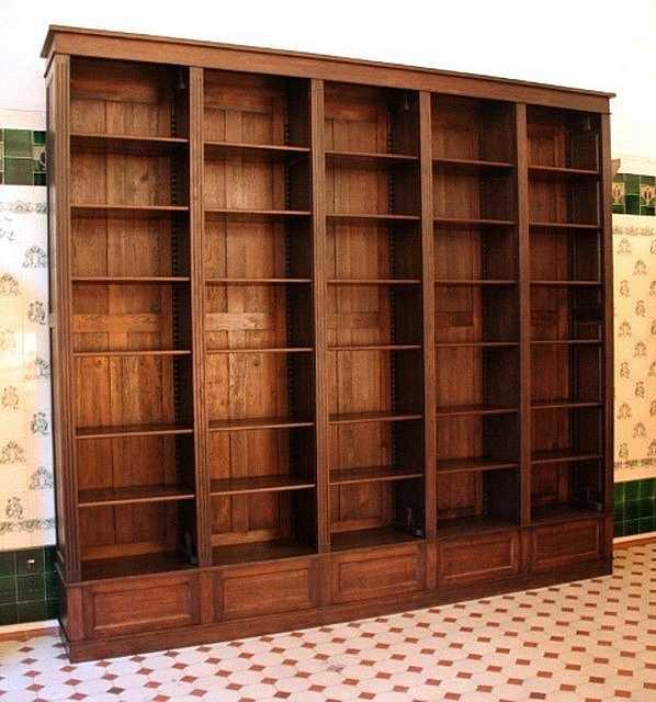 b cherwand aus eiche mit schubladen und leiter regalwand. Black Bedroom Furniture Sets. Home Design Ideas