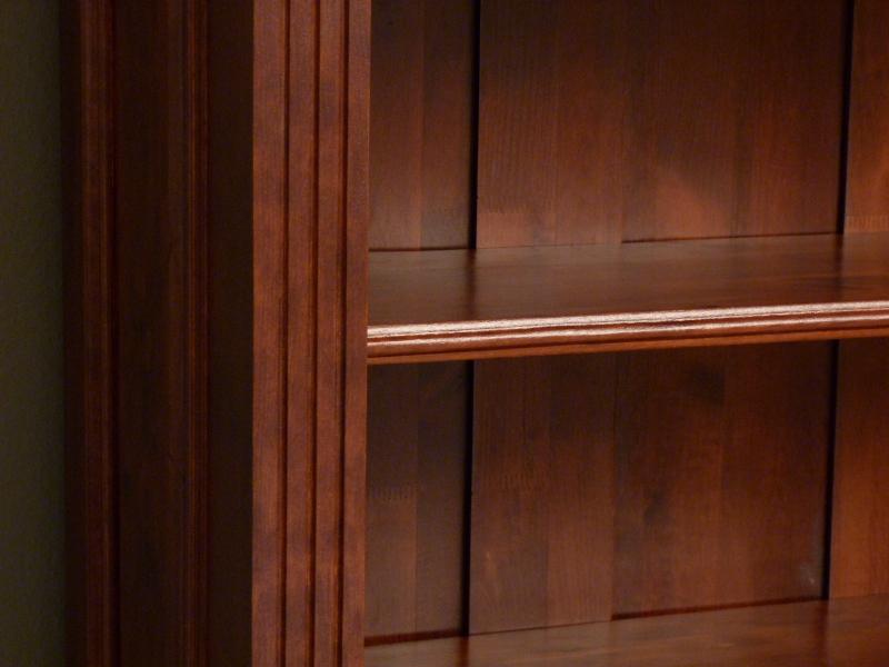 b cherregal massiv holz erle mahagoniton b cherregale nach ma b cherregal b cherregal massiv. Black Bedroom Furniture Sets. Home Design Ideas