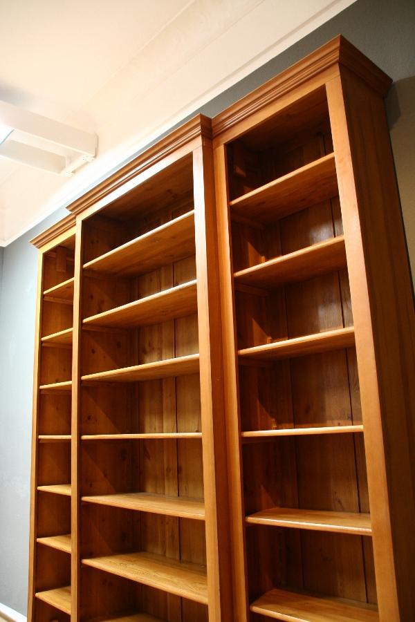 buecherregal massivholz ein gebrauchtes b cherregal. Black Bedroom Furniture Sets. Home Design Ideas