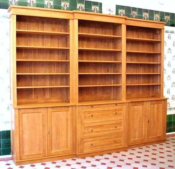 mit t ren b cherregal dreier16 massiv eiche t ren massivholz regale. Black Bedroom Furniture Sets. Home Design Ideas