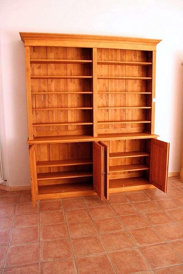 regal schrank dunkel holz interessante. Black Bedroom Furniture Sets. Home Design Ideas